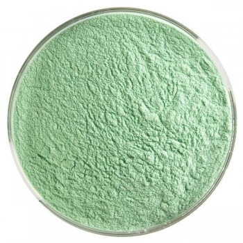 BULLSEYE 透明玻璃 / 搪瓷粉末 透明凱莉綠色 (4oz)
