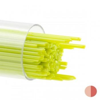 BULLSEYE 乳濁色玻璃幼條 春綠色 (15pcs)