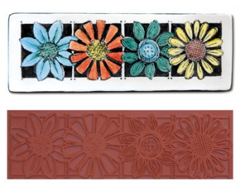 Mayco Designer Stamps - ST-111 - Four Flower