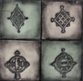 Mayco 壓模工具 - African Symbols (CD-1258)