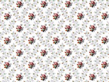 陶瓷印花紙- 單枝玫瑰 (彩色)