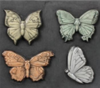 Butterflies Sprig Mold - 4 Designs 2.125