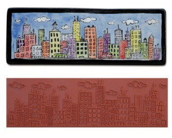 Mayco Designer Stamps - ST104 - Skyline