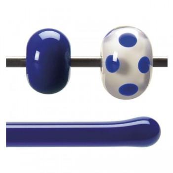 BULLSEYE 乳濁色玻璃棒 深藍色