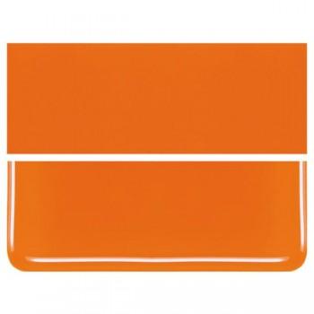 BULLSEYE 乳濁色玻璃片 橙色 (6
