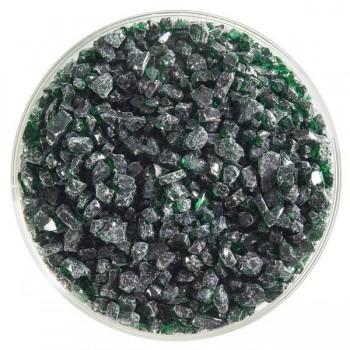 BULLSEYE 透明玻璃粗熔塊 透明凱莉綠色 (4oz)
