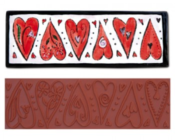 Mayco Designer Stamps - ST105 Dancing Heart