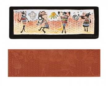 Mayco Designer Stamps - ST117 - Tribal