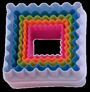 方形波浪切割模具套裝