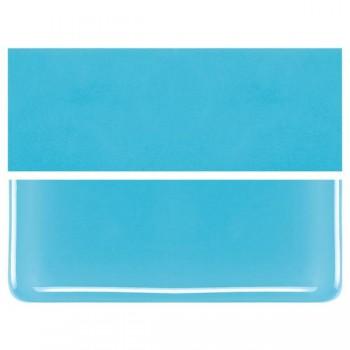 BULLSEYE 乳濁色玻璃片 亮青色 (6