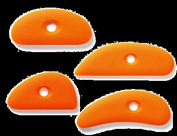 XIEM TOOLS 軟矽膠刮套裝 (4件)