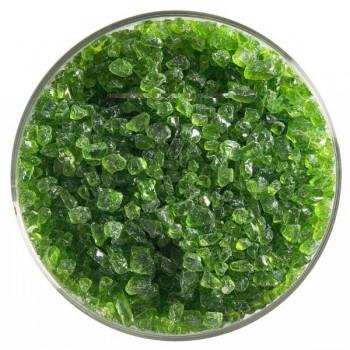 BULLSEYE 透明玻璃粗熔塊 透明春綠色 (4oz)