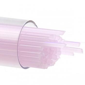 BULLSEYE 乳濁色玻璃幼條 花瓣粉紅色 (15pcs)