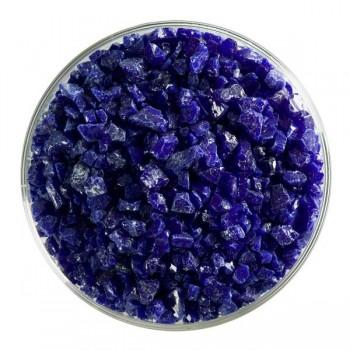 BULLSEYE 乳濁色玻璃粗熔塊 深藍色 (4oz)