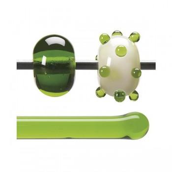 BULLSEYE 透明玻璃棒 透明春綠色