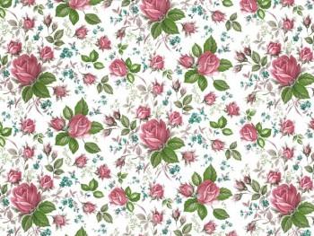 陶瓷印花紙-玫瑰花 (彩色)