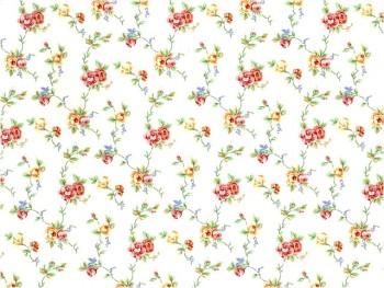 陶瓷印花紙- 塞琳娜花 (白色)