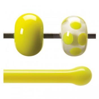BULLSEYE 乳濁色玻璃棒 鮮黃色