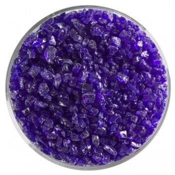 BULLSEYE 透明玻璃粗熔塊 透明深藍色 (4oz)