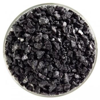 BULLSEYE 乳濁色玻璃粗熔塊 黑色 (4oz)