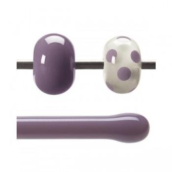 BULLSEYE 乳濁色玻璃棒 灰紫色