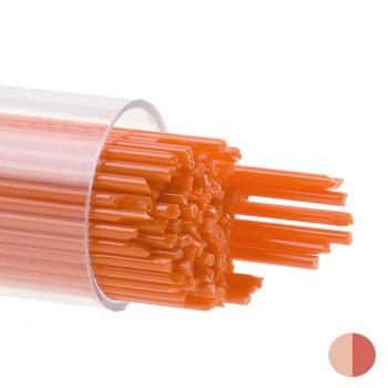 BULLSEYE 乳濁色玻璃幼條 橙色 (15pcs)
