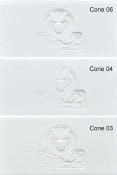 Sio-2 SLFWE PA White Earthenware - 低溫白陶土 (12.5kg)