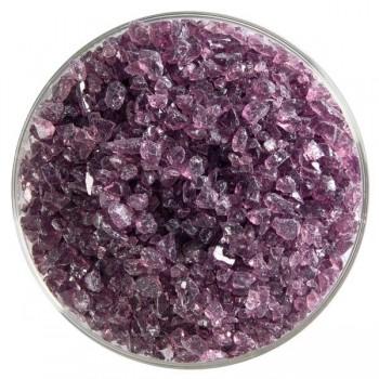 BULLSEYE 透明玻璃粗熔塊 透明淺紫羅蘭色 (4oz)