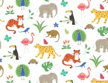 陶瓷印花紙- 動物世界 (彩色)