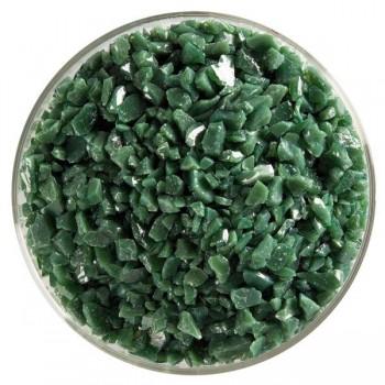 BULLSEYE 乳濁色玻璃粗熔塊 森林綠色 (4oz)