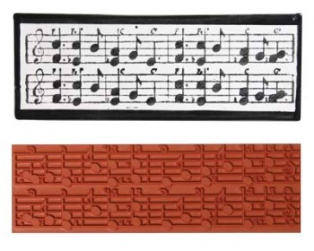 Mayco Designer Stamps - ST-130 - Musical Notes