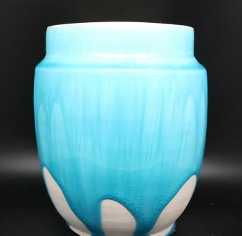 日本信樂 JPG-MT7 半透明色釉 藍月 (10oz)