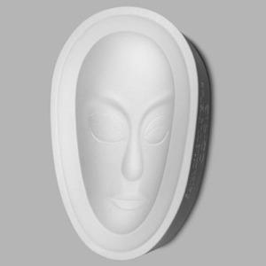 Plain African Mask 無花紋非洲面譜 5.75
