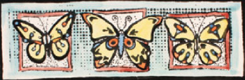 Mayco Designer Stamps - ST-121 - Butterfly